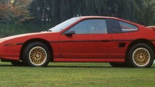 Pontiac Fiero S/E and GT