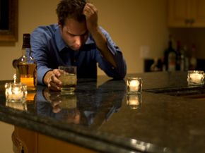 Downers such as alcoholism are the domain of psychology. See more mental disorder pictures.