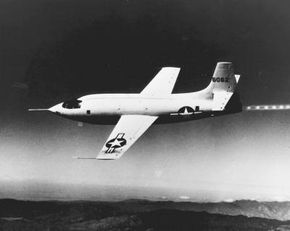 The Bell XS-1 took Chuck Yeager into the history books when it broke the sound barrier.