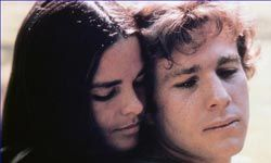 "Ali MacGraw plays Jennifer Cavalleri in 1970's ""Love Story."""