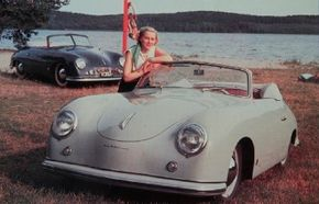 The Porsche 356, light and fast, set the pattern for all Porsche sports cars. See more pictures of classic cars.
