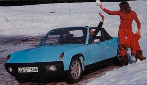 The Porsche 914 didn't hit every fan of the marque as worthy of the Porsche crest. See more pictures of classic cars.