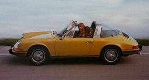 The Porsche 911is the essence of Porsche. In action here is a 1973 911 Targa. See more pictures of classic cars.