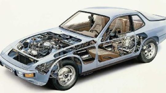 Porsche 924 944 and 968 Pictures and Specifications