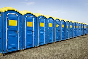 Modern portable bathrooms have come a long way since the Strongbox.