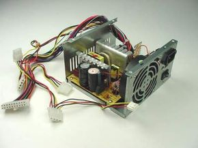 The power supply in your PC provides all of the different voltages your computer needs to operate properly. See more computer hardware pictures.
