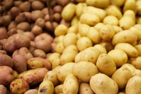 A compound found in potatoes called solanine can cause stomach pains and even paralysis.