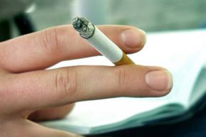 In 2007, a bank robber couldn't resist stopping for cigarettes in the middle of a robbery.