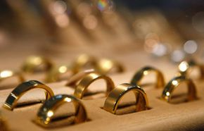 Gold rings are one way of investing in precious metals. Though many own some gold or silver jewelry, precious metals mutual funds are more profitable and less risky.