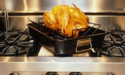 Don't make yourself the turkey by burning the bird!