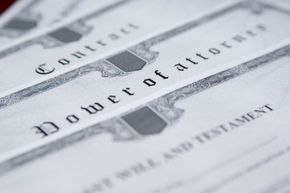 Arranging for power of attorney enables a proxy to handle the business or health affairs.