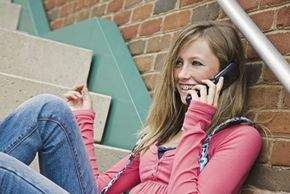 Prepaid cell phones are a great way to monitor teens' phone usage.