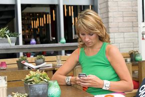 Some prepaid cell phone plans allow users to send and receive text messages.