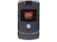 With its prepaid cell phone plans, Verizon offers the Motorola Razr.