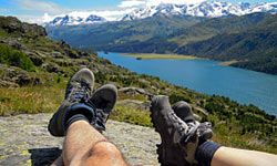Never underestimate the importance of a good pair of hiking boots.