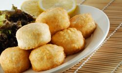 These may look like fried cheese, but they're the real tofu deal.