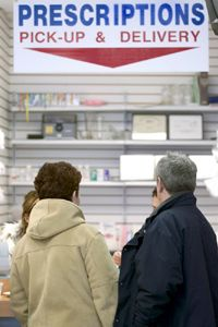 Pharmacies can send alerts to remind customers when their prescription is ready for pick up.