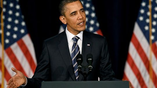How does President Obama plan to fix the federal deficit?