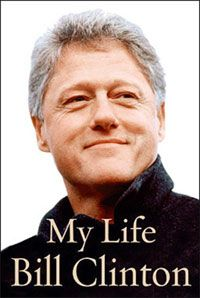 """Jacket cover of President Bill Clinton's memoir, """"My Life"""". See more pictures of the presidents."""