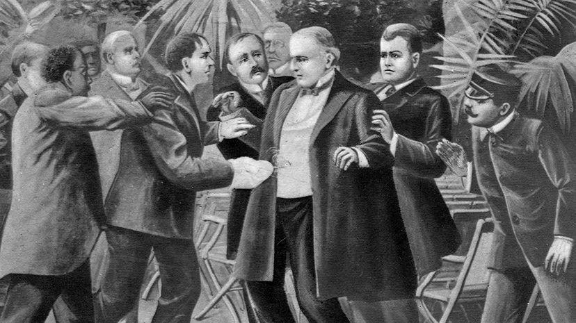william mckinley assassination illustration