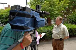 Consider holding a press conference on location.