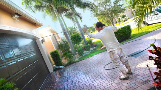Pressure Washing: An Oh So Satisfying Clean