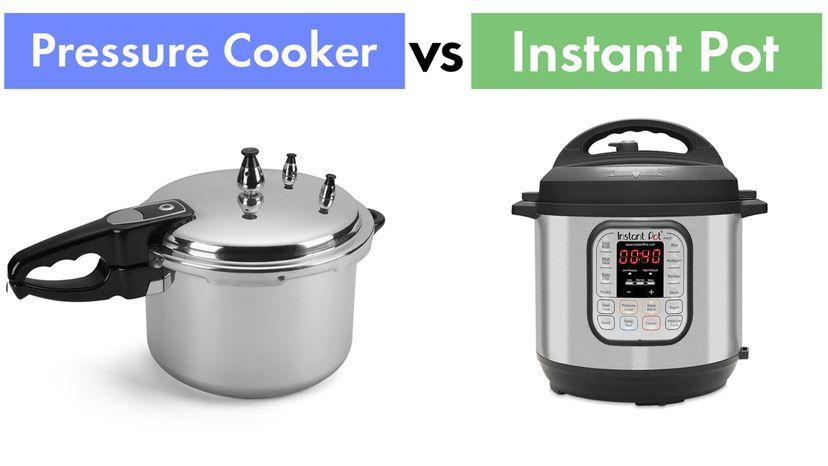 Pressure cooker vs. Instant Pot