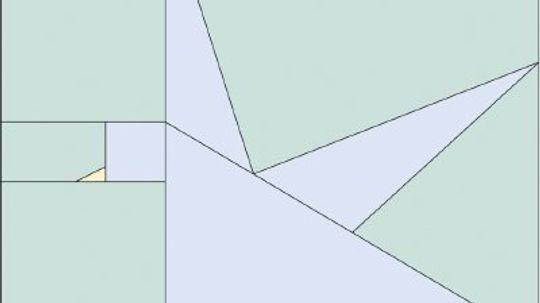 Pretty Bird Quilt Block