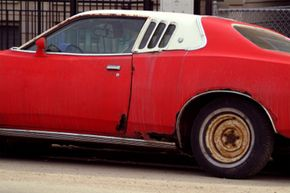 Muscle Car Image Gallery Small rust spots can grow quickly and cause serious damage to your car. See more pictures of muscle cars.