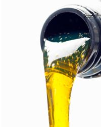 Paraffin-based motor oil on the store shelf will contain minuscule amounts of wax.
