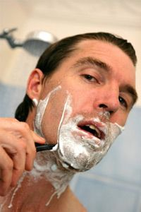 You can help prevent shaving rash by taking advantage of the warm water and steam in the shower.