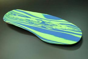 Custom orthotics or over-the-counter insoles can prevent foot injuries.