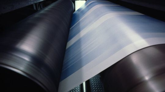 How can you print without ink?
