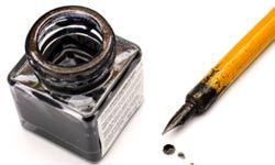 Removing ink stains can be a difficult process.