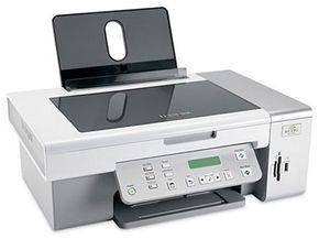 The Lexmark X4550 Wireless Printer has a WiFi receiver.