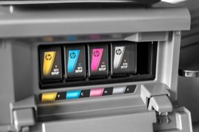 Think of the ink in your printer as a sort of bridge between your ideas in the digital world and their realization in hard copy.