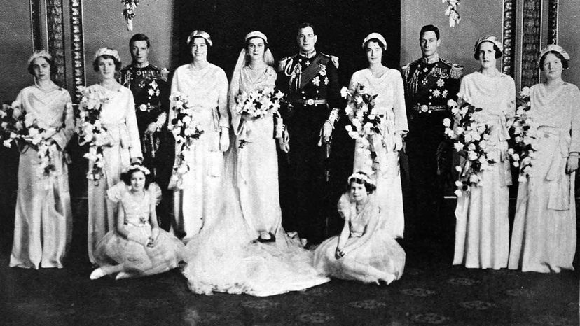 marriage of Prince George and Princess Marina