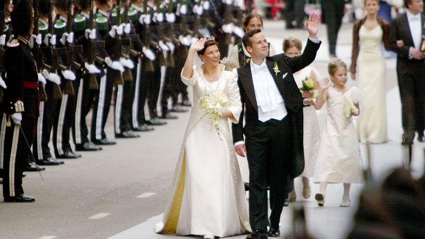 Princess Martha Louise wedding