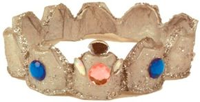Add a prince or princess crown to your collection of costumes.