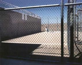 The exercise yard at the Central California Women's Facility.