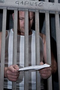 For the prison project, inmates received a printout of the children's questions so that they could respond.