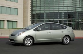 The Prius shares many qualities with the Prius Touring, including superb fuel efficiency and a continuously variable transmission.