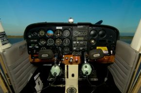 When the weather isn't cooperating, pilots have to fly by interpreting their instruments alone.