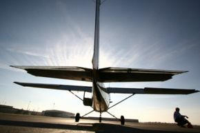 The Cessna 172 Skyhawk is the most-produced model of any aircraft, so it's among those commonly used for student training.