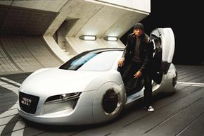 Will Smith and the Audi RSQ