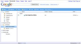 Google Docs is an online productivity software suite from Google which can be used collaboratively.