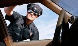 Do you know what to do when you're pulled over by a police officer? See more pictures of police.