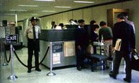 Airline passengers have gotten used to stricter security measures at airports.