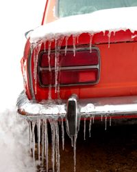 Cold weather is tough on a car's engine.