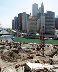 New developments, like the Trump International Hotel & Tower in Chicago, could effect changes in property tax bills.